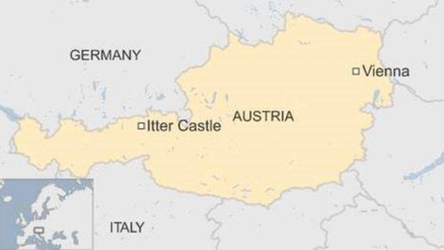 Situación del Castillo Itter