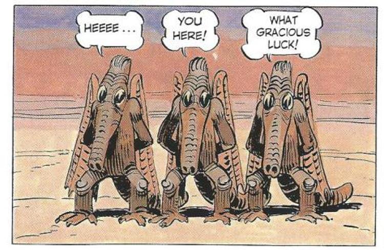 Influencia famoso comic frances Star Wars 9