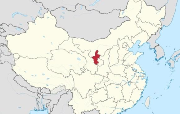 Encuentran esfinge milenaria tumba china1