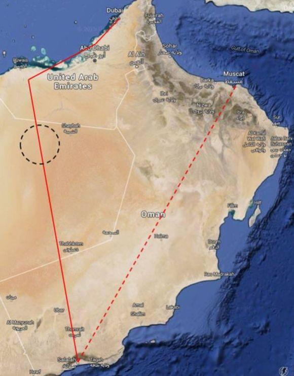 Misteriosa ciudad perdida desierto arábigo 1