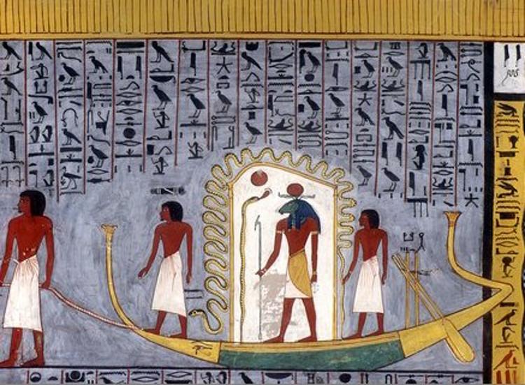 Descubren un barco funerario bien conservado en una tumba egipcia en Abusir