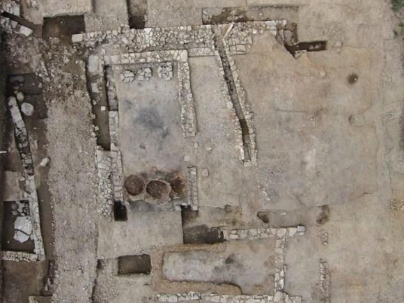 Estructura de la taberna de Lattara