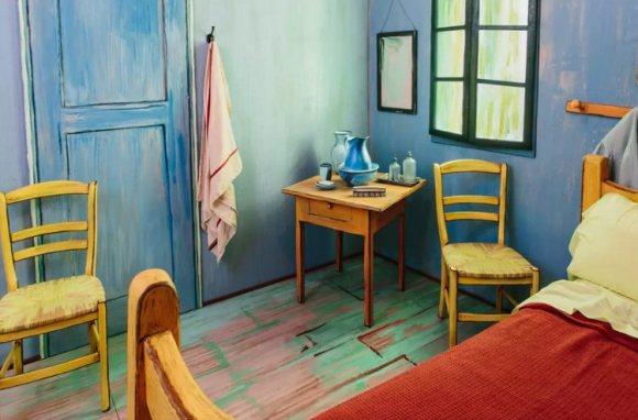 Recrean Dormitorio Arles Van Gogh alojamiento 2