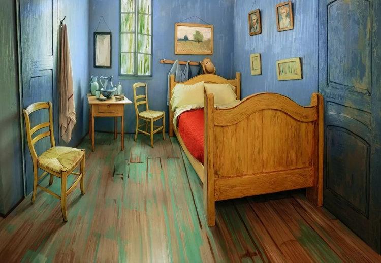 Recrean el «Dormitorio de Arlés» de Van Gogh como alojamiento