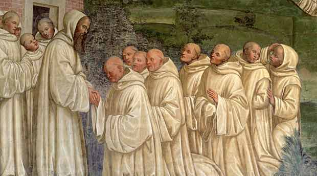 5 sorprendentes detalles de la regla monástica de San Benito