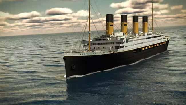 La réplica del Titanic surcará los mares en 2018