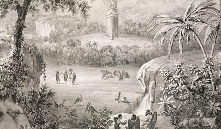 Hombres murcielago Luna fraude periodístico 1835