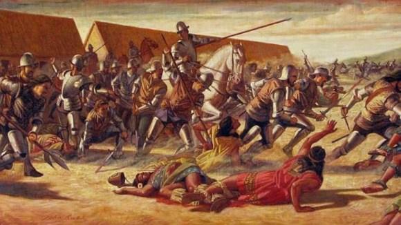 Conquistadores españoles raza negra 3