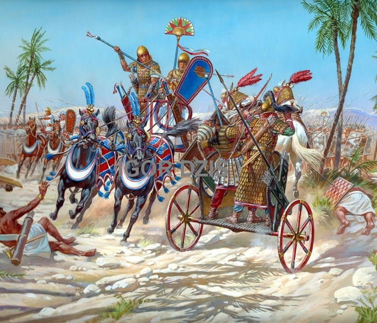 Niña encuentra Jerusalen colgante egipcio tiempos Tutmosis III