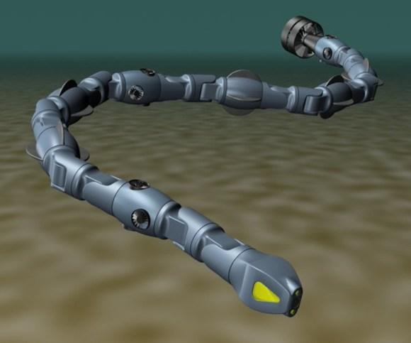 Serpiente mecanica trabajos subacuaticos 1
