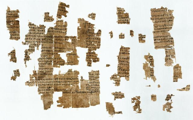 Fragmentos de la obra de Safo