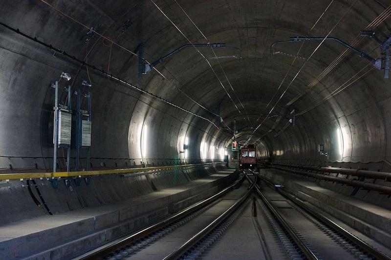 El 1 de junio se inaugurará el tunel más largo y profundo del mundo