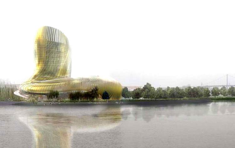 El futurista nuevo parque temático de Burdeos: la Ciudad del Vino