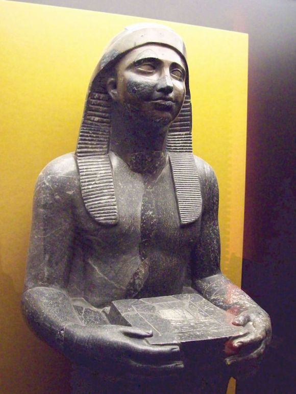 Descibierto Heliopolis templo egipcio XXX dinastia 3
