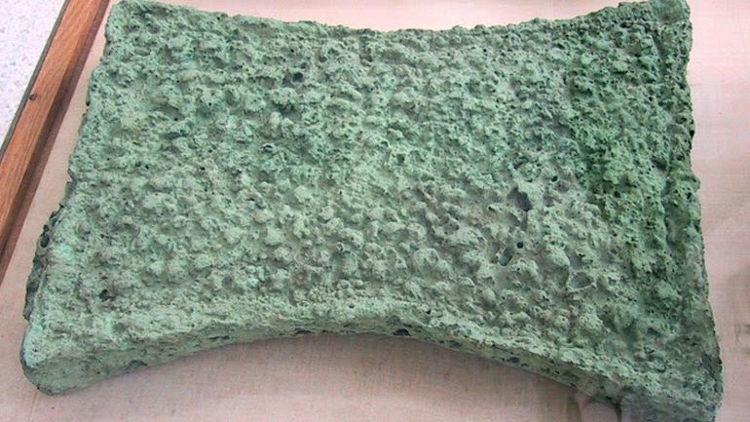Encuentran en Suecia herramientas Bronce hechas cobre procedente Chipre