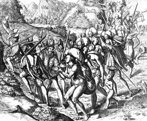 Enigma oro perdido conquistador Ambrosio Ehinger