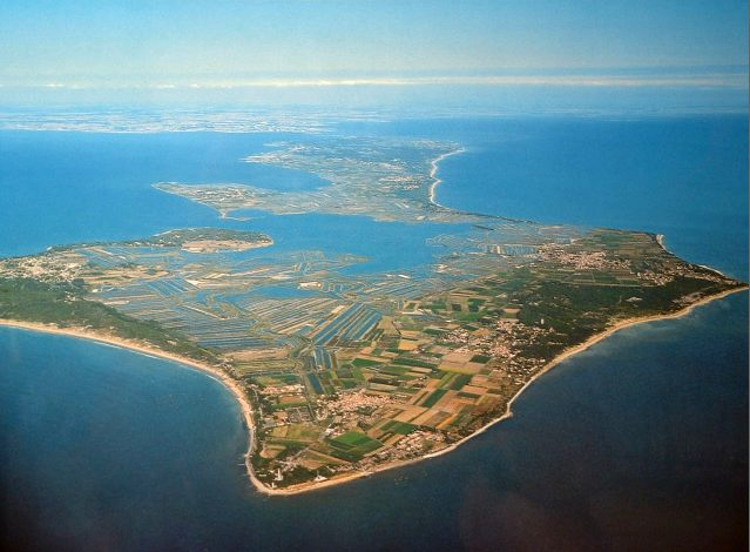 Insolitas olas cuadradas isla Re