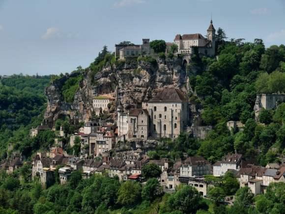 La localidad de Rocamadour