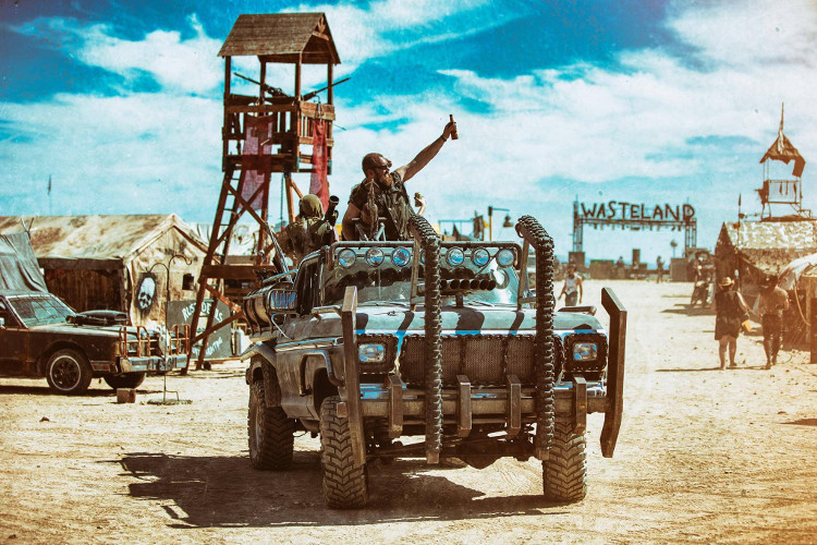 Wasteland Weekend, el festival californiano que recrea el mundo de Mad Max