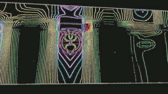 Imagen de scaner de la supuesta cámara secreta