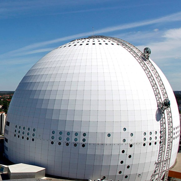 Ascensores panoramicos Ericsson Globe nueva atraccion turistica Estocolmo