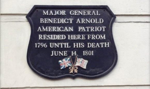 Benedict Arnold patriota primer traidor historia EEUU