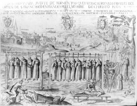 Milagro Gorcum historia cuadro Escorial 2