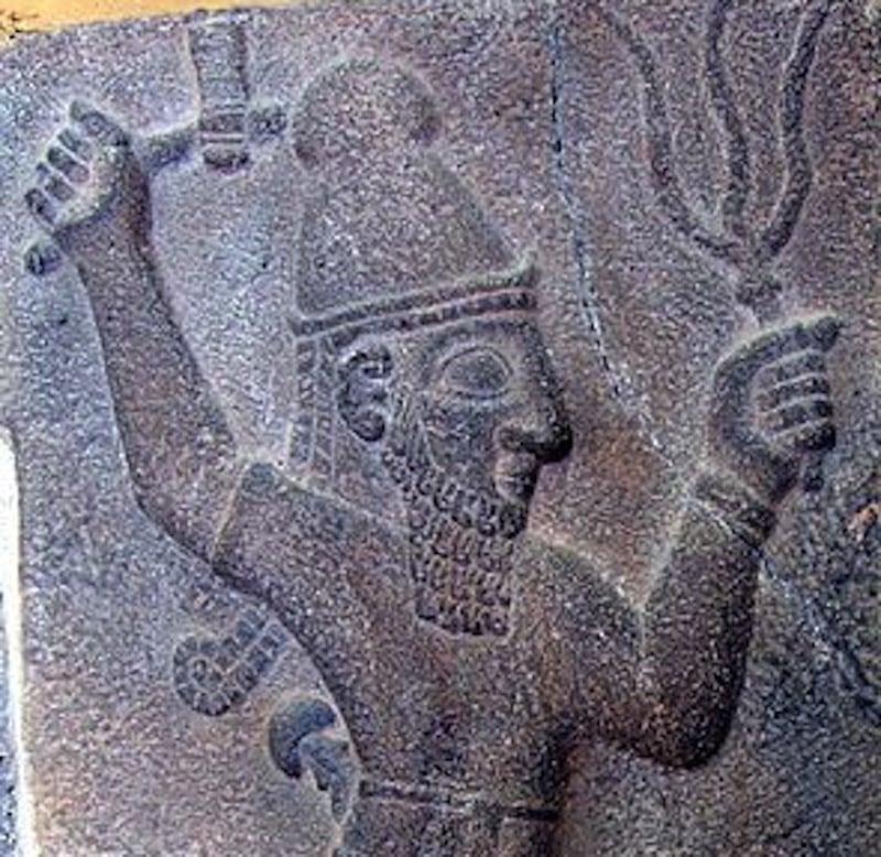 El dios Teshub
