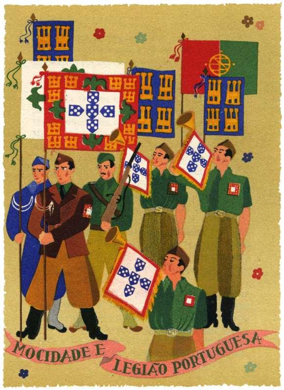 Legion Verde los voluntarios portugueses Division Azul