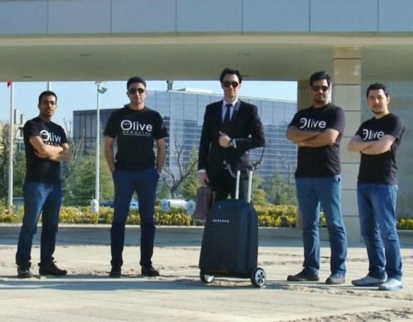 El equipo de diseñadores de IKAP robotics