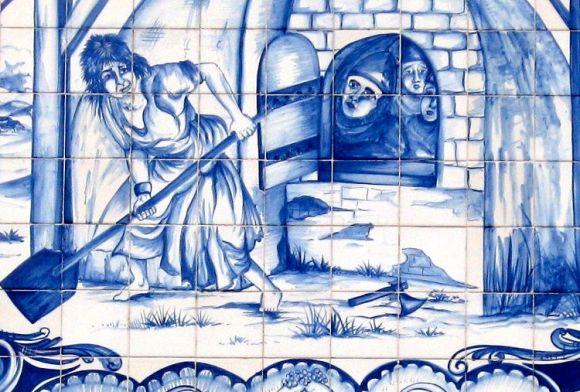 Panadera portuguesa mataba castellanos tras batalla de Aljubarrota