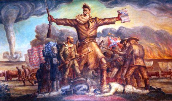 Sangria Kansas prologo Guerra Secesion