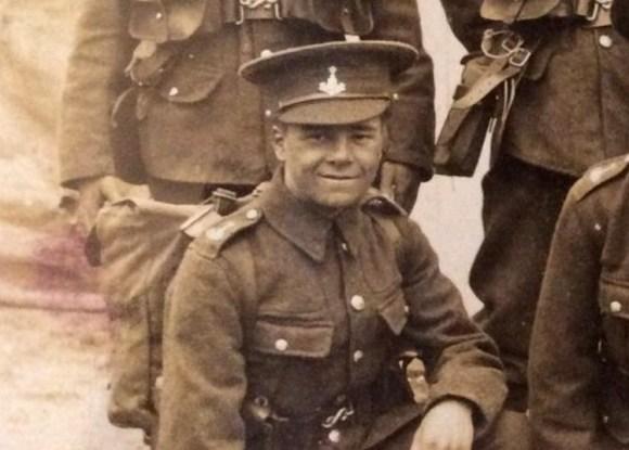 Wilfred Whitfield modesto héroe salvo soldados mutilados Somme