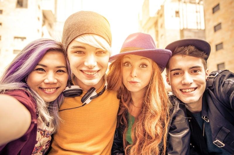 Estudiantes Erasmus / foto Shutterstock