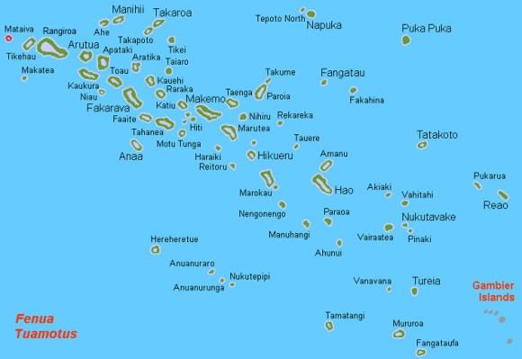 Mataiva atolon laguna reticula en interior