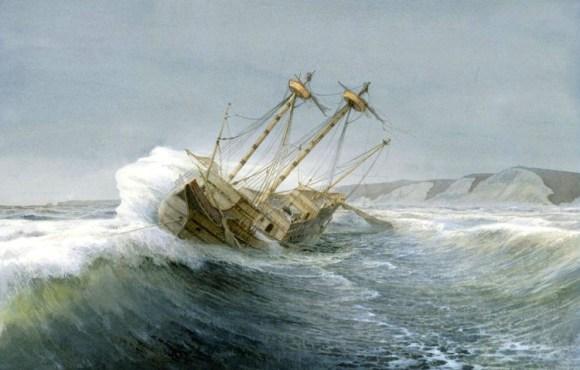 Naufragio galeon San Agustin