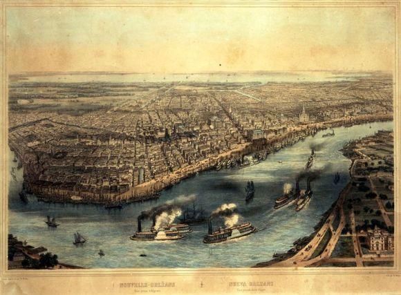 Nueva Orleans a mediados del siglo XIX