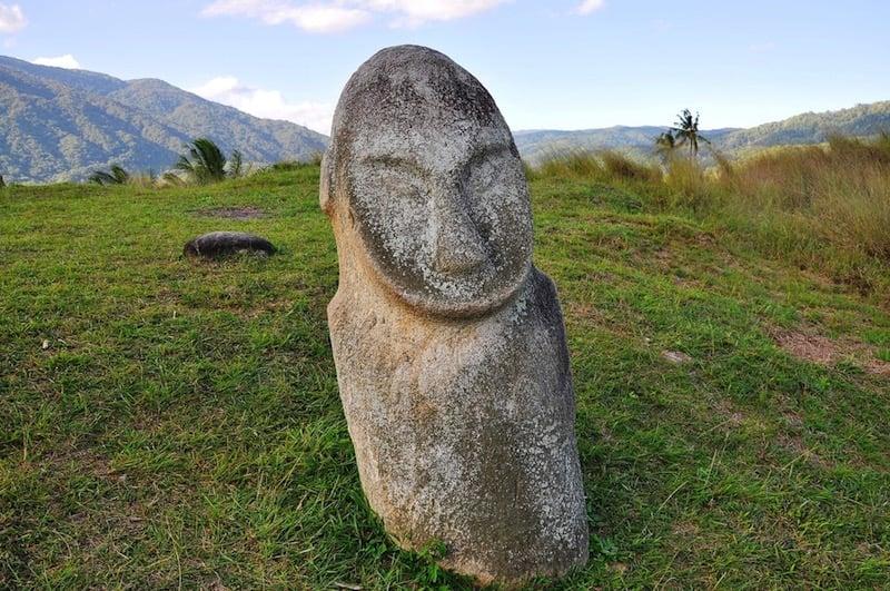 Esculturas del valle de Bada / foto Shutterstock