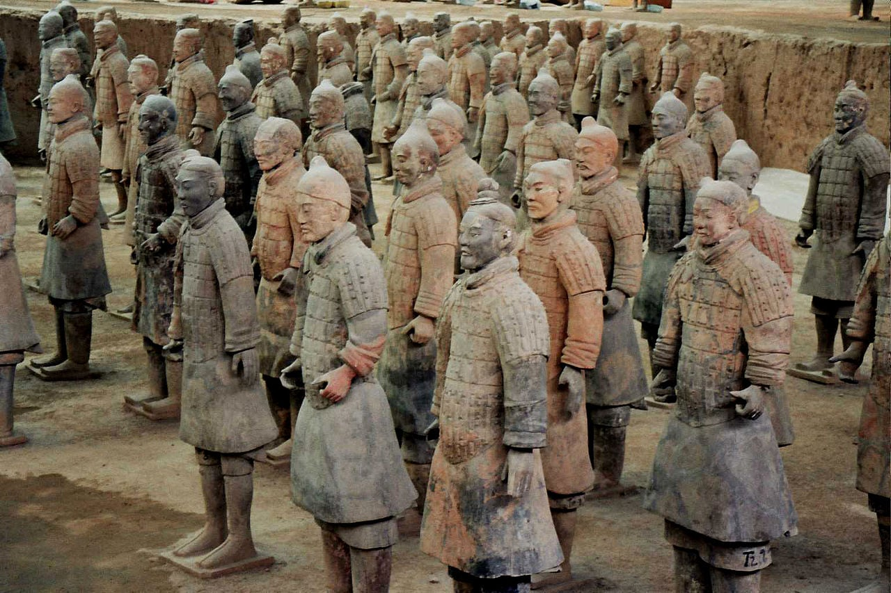 Nuevas evidencias sugieren influencia griega en los soldados de terracota chinos
