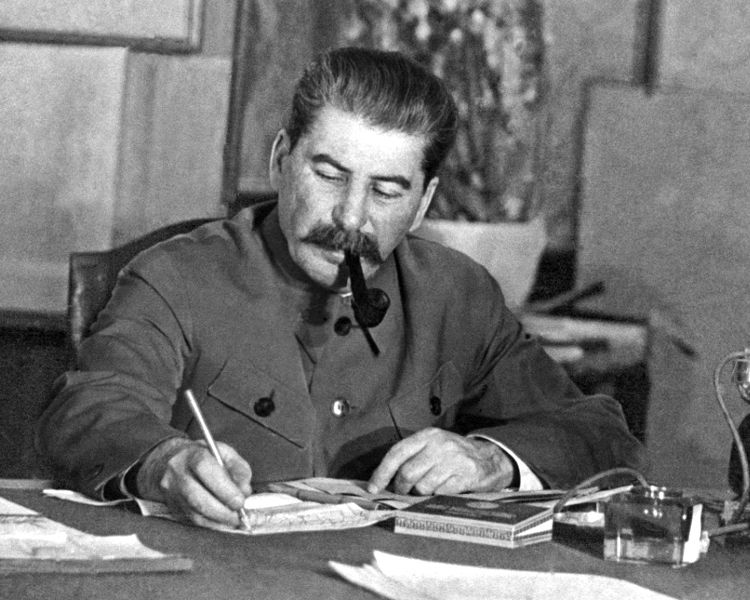 Stalin en una imagen de posguerra