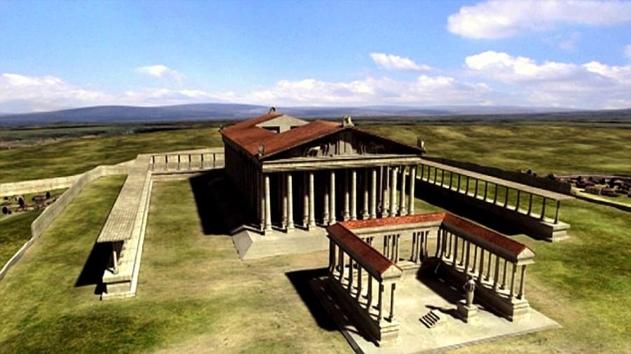 El ático del Partenón pudo estar destinado a guardar el tesoro de Atenas