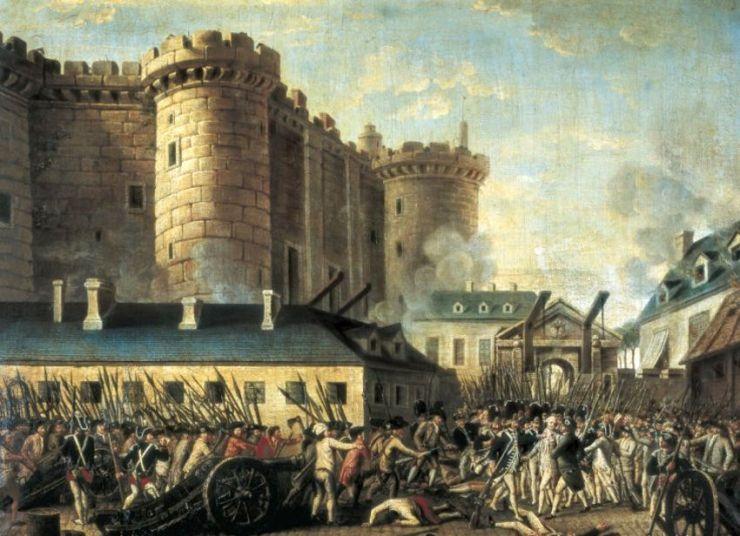 La Toma de la Bastilla/Imagen: dominio público en Wikimedia Commons