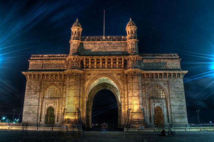 La Puerta de la India en Bombay