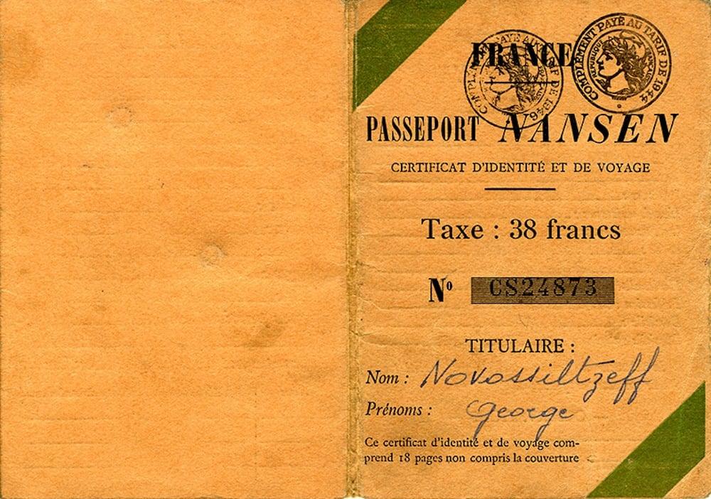 Pasaporte Nansen, la visa que salvó a medio millón de refugiados en los años 20