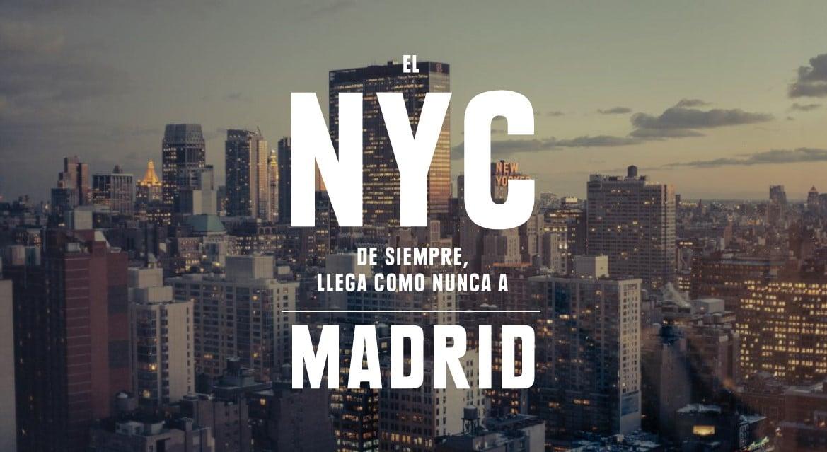 El espíritu de Nueva York en el Seagram's New York Hotel at Only You de Madrid