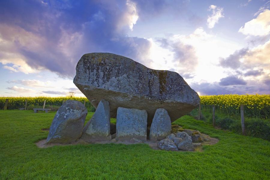El impresionante dólmen de Brownshill, el más grande de Europa en su tipología