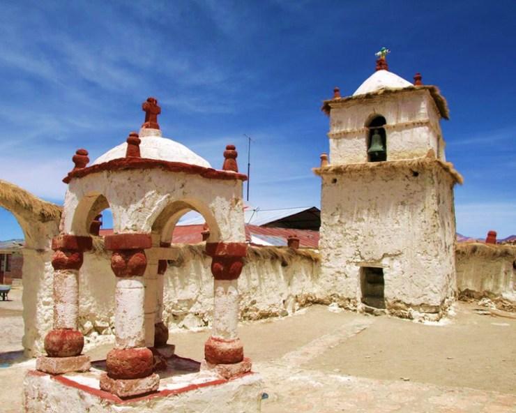La iglesias mestizas de la región chilena de Arica y Parinacota