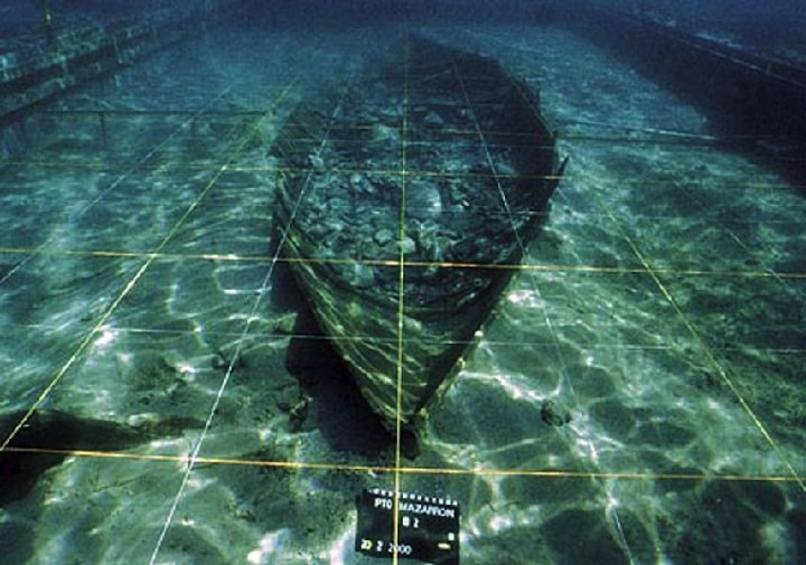 El barco fenicio de Mazarrón, la nave antigua más completa encontrada en el Mediterráneo