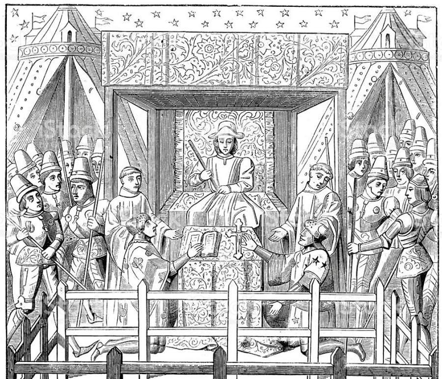 La compurgación, una curiosa forma de defensa jurídica medieval que pervivió hasta la segunda mitad del siglo XIX