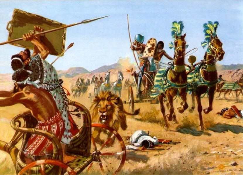Resultado de imagen de batalla de Pelusio